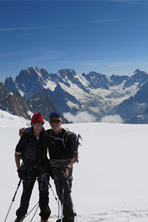 With Bettina - Chamonix, France